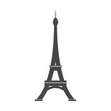 Paris Eiffel Tower Icon