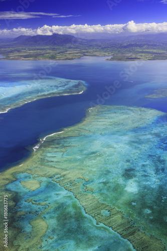 Fotobehang Tropical strand Barrière de Corail Voh Nouvelle Calédonie