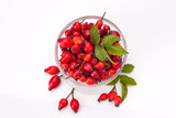 rose hip isolated - 180686172