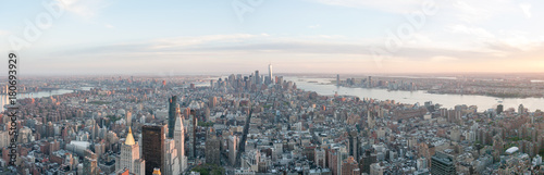 In de dag New York panorama skyline new york
