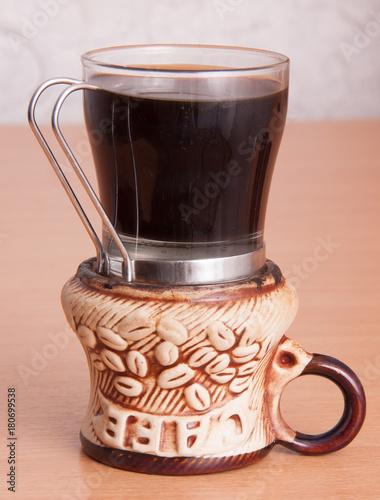 Staande foto Koffiebonen aroma coffee grains