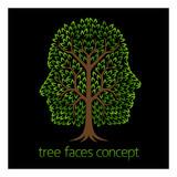 Faces Tree Concept - 180729528