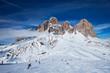 Quadro Ski resort in Dolomites, Italy