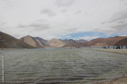 Papiers peints Gris pangong lake