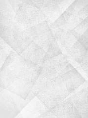 abstract white background, faint layers of intersecting angles, rectangles and squares floating in gray random pattern, transparent shapes with texture