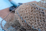 Closeup Image of Fishnet - 180787721