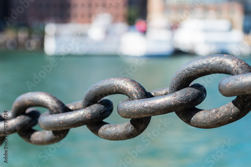 Five Links in Iron Chain - 180798734