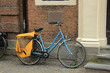 light blue bike
