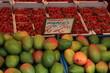 Fresh fruit on a market stall