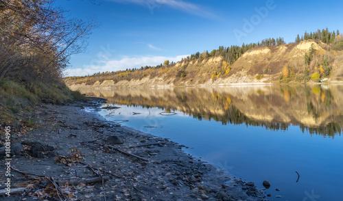 Keuken foto achterwand Canada North Saskatchewan River, Edmonton, Alberta