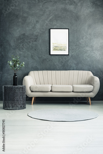 Grey texture wall