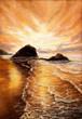 Sunset over beach - 180831147