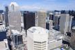 Panorama of modern Calgary skyline