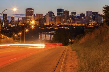 Modern architecture of Edmonton