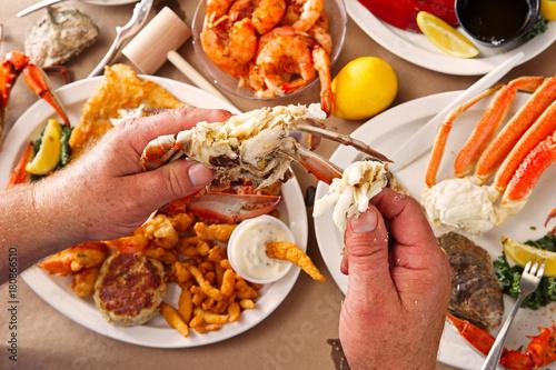 Seafood Smorgasbord - 180866510