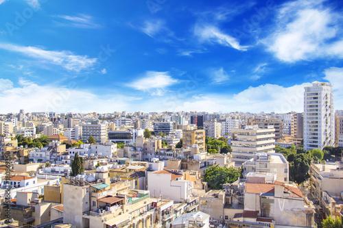 In de dag Cyprus Nice view of Nicosia, Cyprus