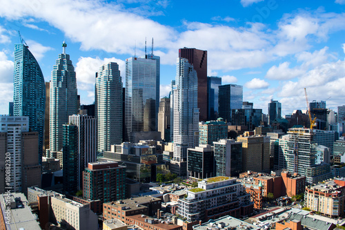 Keuken foto achterwand Toronto Skyline