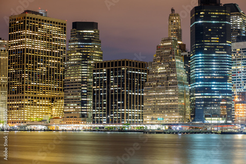 Foto op Canvas New York TAXI city new york manhattan city street road