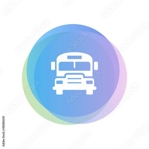 Fotobehang Auto Minimalist Icon Design
