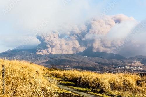 Vulkanausbruch am Aso, Japan © A. Zeitler