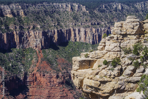 Fotobehang Bleke violet Grand Canyon, Arizona USA