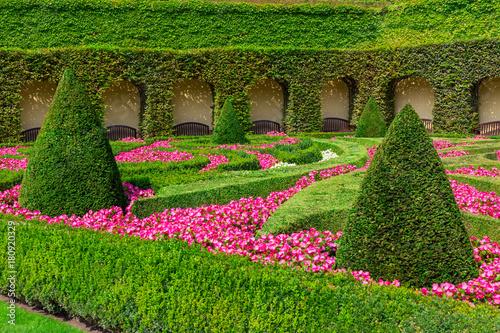 Foto Murales Park in Baroque style