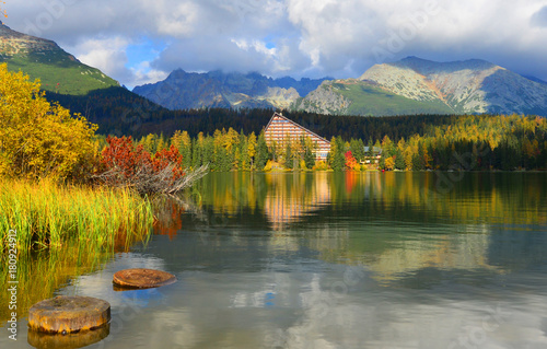 Tuinposter Herfst Autumn landscape