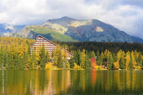 Foto op Canvas Herfst Autumn landscape