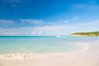 Tropical beach in st johns, antigua