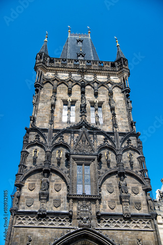 Papiers peints Prague Powder tower in Prague, Czech Republic