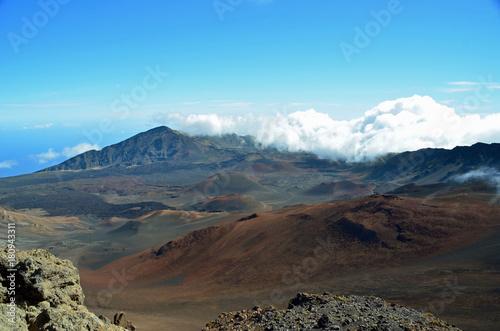 Poster Blauw Haleakalā