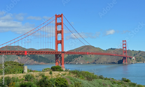 Plexiglas San Francisco Golden Gate Bridge Sunny Day
