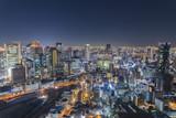 大阪梅田から見る夜景