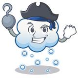 Pirate Snow Cloud Character Cartoon Wall Sticker