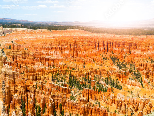 Colorful rock formations in Bryce Canyou, Utah, USA