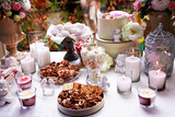 Table beautifully laid for tea - 180988367