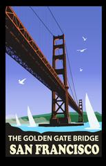 The golden gate bridge, San Francisco © Isaxar