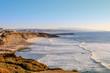 Vista da praia do Matadouro na Ericeira