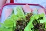 Fototapety salad roll at street food