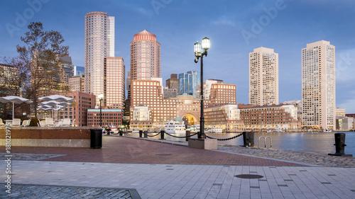 Wall mural Boston in Massachusetts, USA.