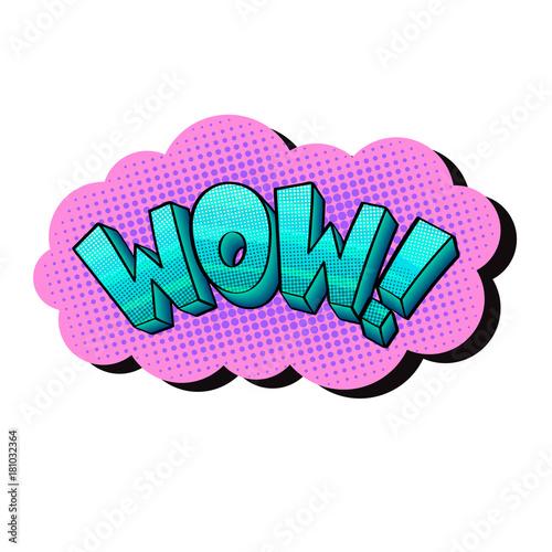 Fotobehang Pop Art pop art sticker