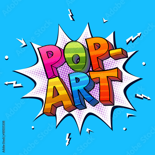 Aluminium Pop Art Pop Art sticker
