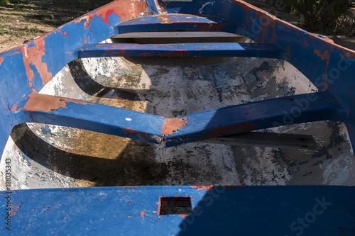 Keuken foto achterwand Schip Old boat on the island of Tabarca