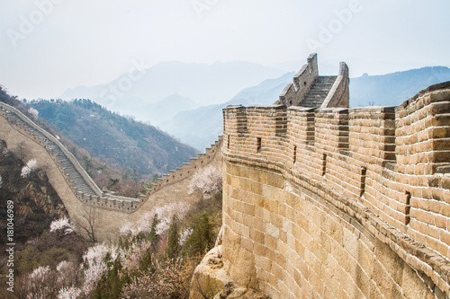 Fotobehang Peking China, Great Wall of China