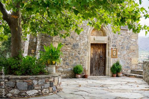 Fototapeta Monastery in Crete, Greece