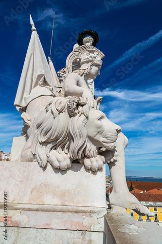 Triumphal arch in Lisbon