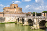 Castel Sant Angelo in Rome - 181078747