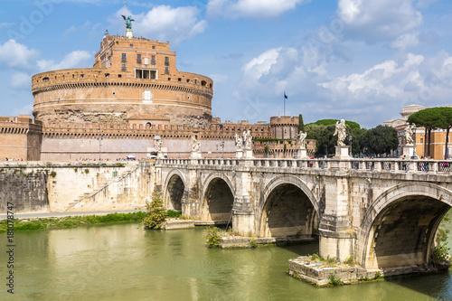 Foto op Canvas Rome Castel Sant Angelo in Rome