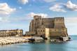Quadro Castel dell'Ovo in Naples, Italy