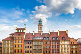 Fototapety Old town sqare in Warsaw